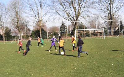 Gratis voetbalfestijn met veel vertier bij Merefeldia